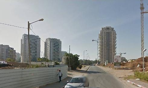 שכונת נווה גן בפתח תקווה. כ-70% מהדירות המתוכננות כבר נבנו (צילום: גוגל מפות)