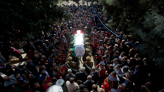 Funeral of Palestinian minister (Photo: AP)