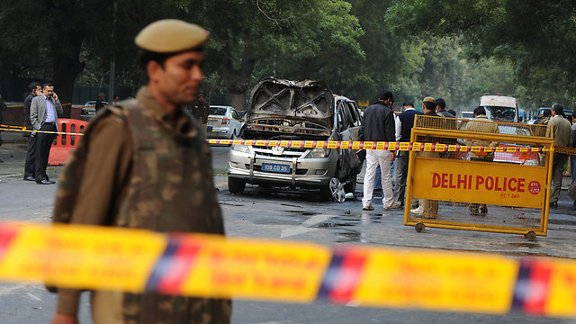 Bombing of Israeli diplomatic vehicle in India (Archive photo: AFP) (Photo: AFP)