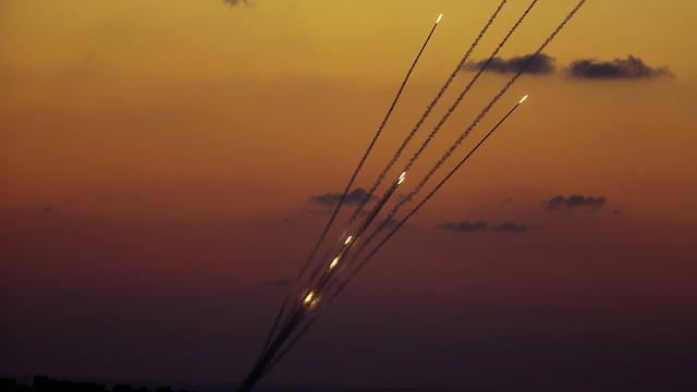 Rocket fire from Gaza during Operation Protective Edge. (Photo: EPA) (Photo: EPA)