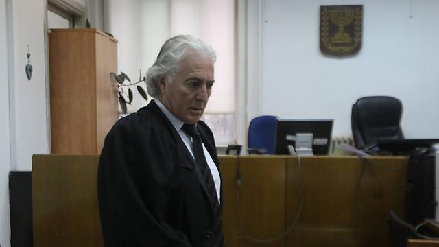 Zion Amir, Deri's lawyer. (Photo: Gil Yohanan)