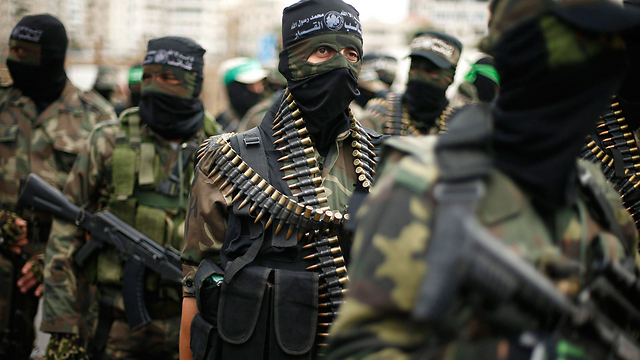 Hamas fighters on parade in Gaza. (Photo: Reuters) (Photo: Reuters)
