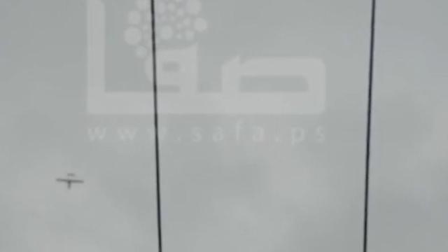 """מל""""ט תוצרת חמאס בשמי עזה ()"""