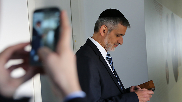 Eli Yishai (Photo: Yaron Brenner)