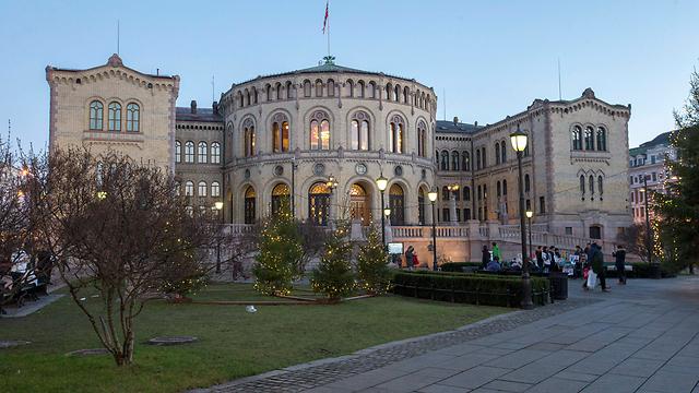הפרלמנט הנורבגי, אוסלו (צילום: EPA)