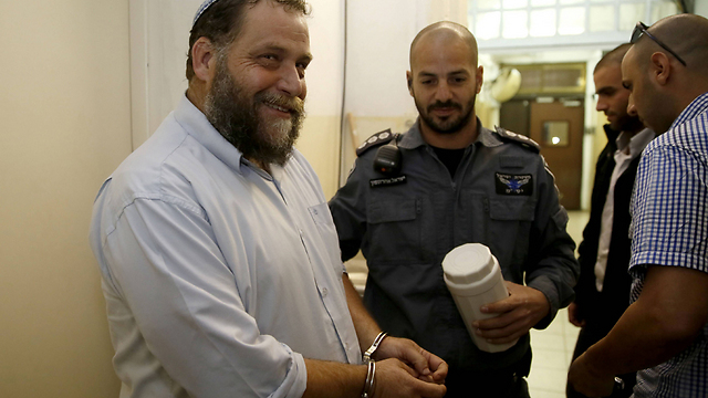 Gopstein during one of his previous arrests (Photo: AFP)
