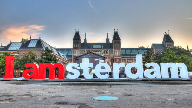 The 'I Amsterdam' statue (Photo: Shutteratock)
