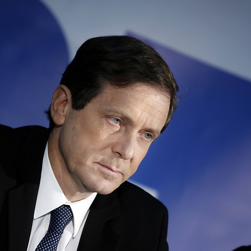 Isaac Herzog is revamping his image from a nerd to a tough guy. (Photo: AFP) (Photo: AFP)