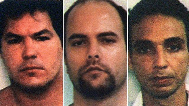 """שלושה אסירים קובנים שתשחרר ארה""""ב (צילום: AP) (צילום: AP)"""