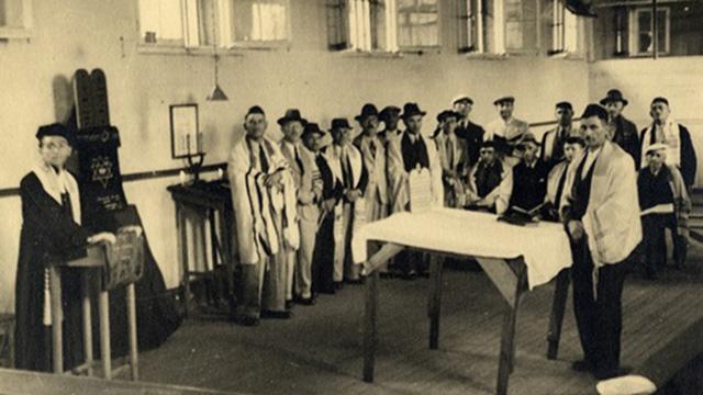 חיי הכלואים היהודים במאוריציוס. יחס הוגן וחופש יחסי (צילום: מוזיאון בית לוחמי הגטאות ) (צילום: מוזיאון בית לוחמי הגטאות )