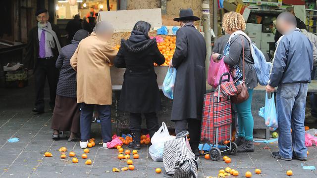 Jerusalem's Mahane Yehuda market (Photo: Gil Yohanan) (Photo: Gil Yohanan)