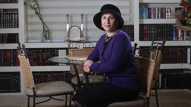 """""""אצלנו בבית לא דיברו על הדברים האלה. נקודה"""". הרבנית יפה דרעי (צילום: אלכס קולומויסקי)"""