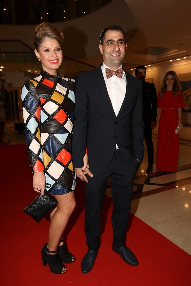 אסי ישראלוף ואישתו (צילום: ענת מוסברג)