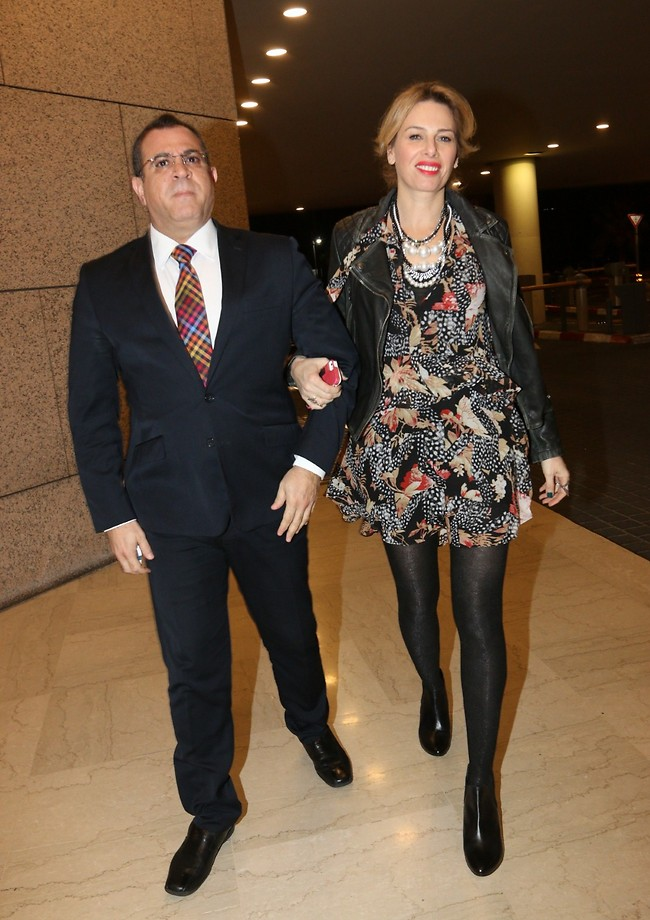 אלי יצפאן ואישתו (צילום: ענת מוסברג)