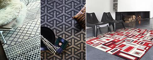 טרנד גיאומטרי, צבעוני וצורני. שטיחים של רשת כרמל שטיחים ופרקט