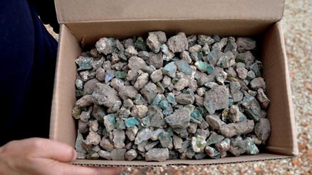 התגלה בחפירות  (צילום: יולי שוורץ, רשות העתיקות : ) (צילום: יולי שוורץ, רשות העתיקות : )