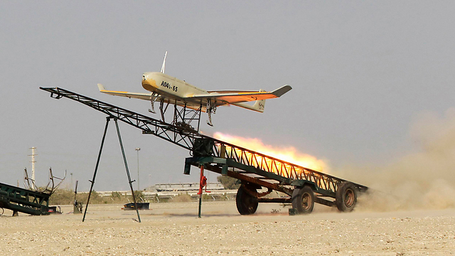 Iran's UAVs flown on first day of army's military drills (Photo: AP) (Photo: AP)