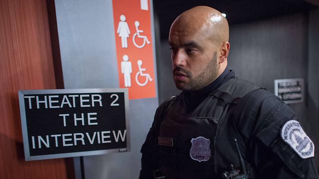 מאבטח בבית קולנוע בוושינגטון (צילום: AFP) (צילום: AFP)