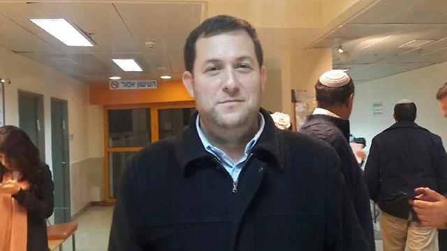 Head of the Shomron Regional Council Yossi Dagan