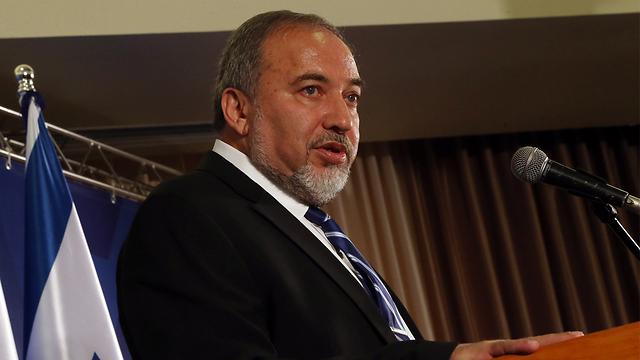 Foreign Minister Avigdor Lieberman (Photo: Motti Kimchi)