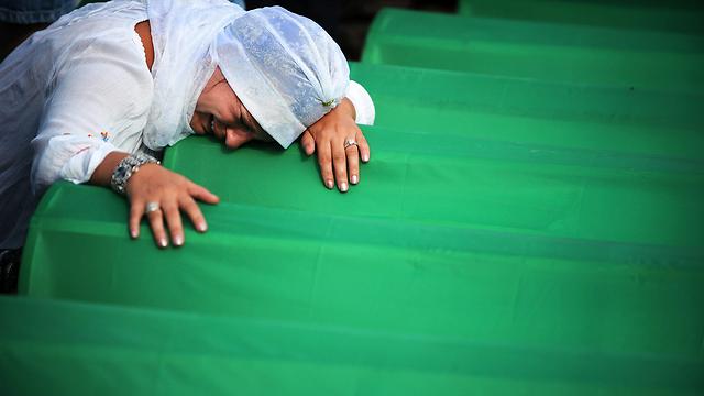 8,000 מוסלמים נטבחו. טבח סרברניצה (צילום: AFP)