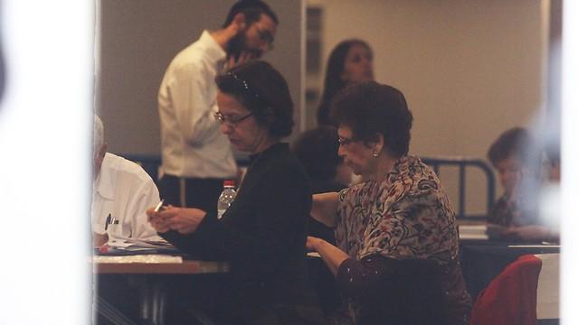 סופרים קולות ידנית בגני התערוכה בתל אביב  (צילום: עידו ארז ) (צילום: עידו ארז )