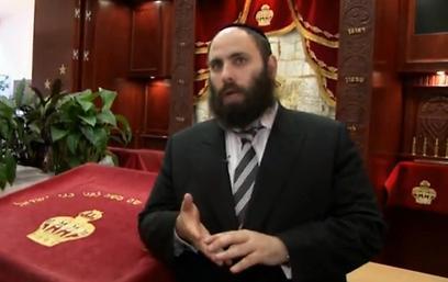 Rabbi Menachem Margolin. 'The authorities are doing everything to protect us' (Photo: Eli Mandelbaum)