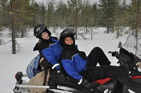 רוכבים על הקרח