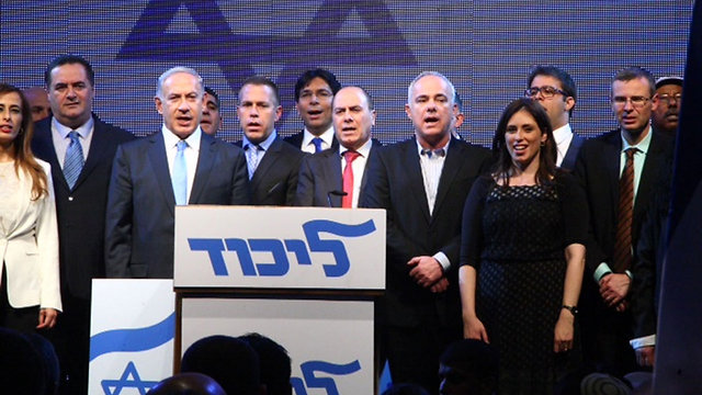 Members of Likud's new list for Knesset. (Photo: Motti Kimchi)