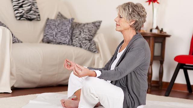 מדיטציה כמפתח לחיים ארוכים ובריאים (צילום: shutterstock) (צילום: shutterstock)