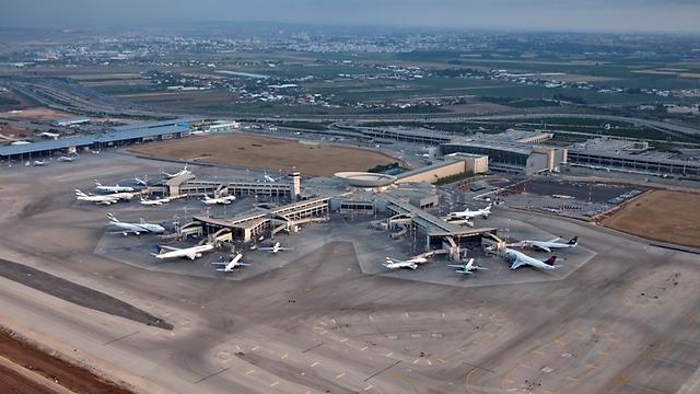 """נתב""""ג. הנוסעים לאורלנדו לא פוצו (באדיבות רשות שדות התעופה)"""