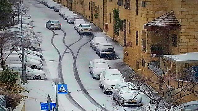 וזה המראה בירושלים, שציפתה ליותר (צילום: אורי ונטורה וייסמן) (צילום: אורי ונטורה וייסמן)