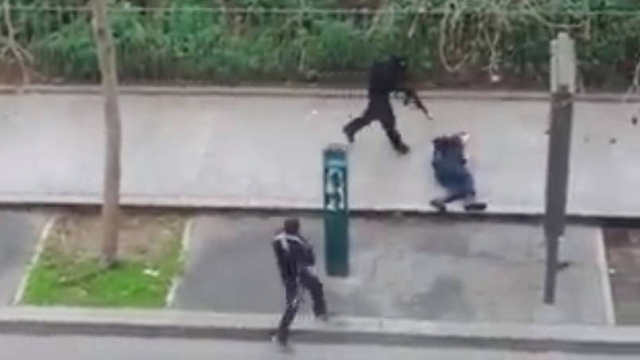 Charlie Hebdo attackers (Photo: MCT)