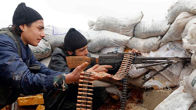 Rebels in Aleppo (Photo: Reuters)