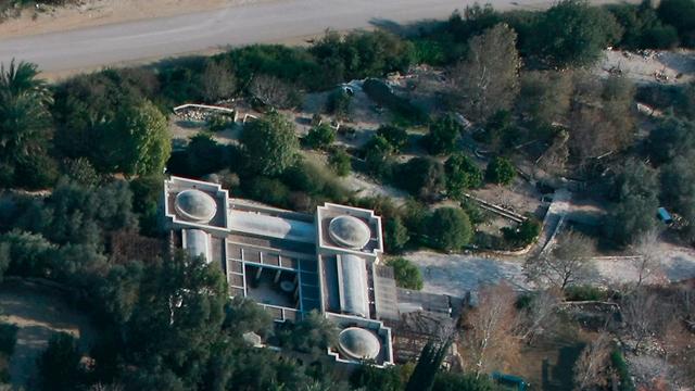 האחוזה של גלנט במושב עמיקם (צילום: שאול גולן) (צילום: שאול גולן)