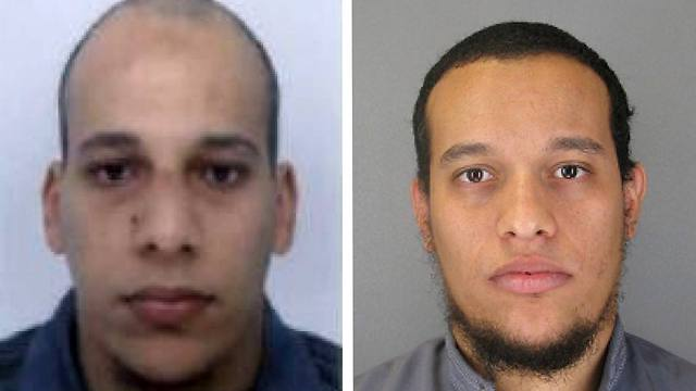 Said (L) and Cherif Kouachi (Photo: AP) (Photo: AP)