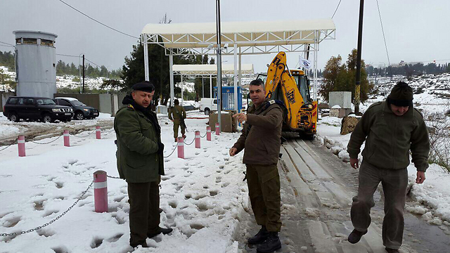 Routes being reopened in the West Bank (Photo: Coordinator of Government Activities in the Territories)