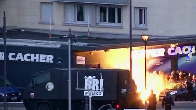 French police raid kosher supermarket. 'The Western European countries' security services are unprepared for dealing with the radical Islamic terror'