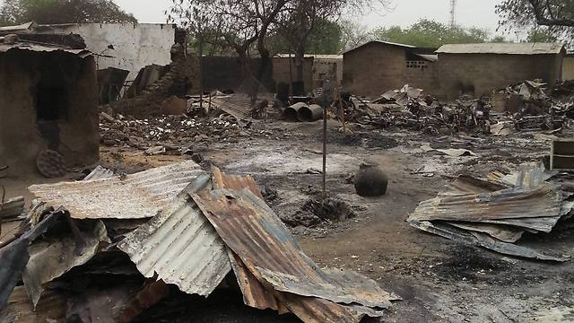 Aftermath of Boko Haram attack on the town of Baga (Photo: AP)