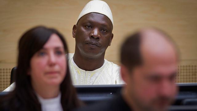 """פושע המלחמה הראשון שהורשע ב-ICC. תומס לובנגה מקונגו, """"משעבד הילדים"""", שנידון ב-2012 ל-14 שנות מאסר (צילום: AP) (צילום: AP)"""