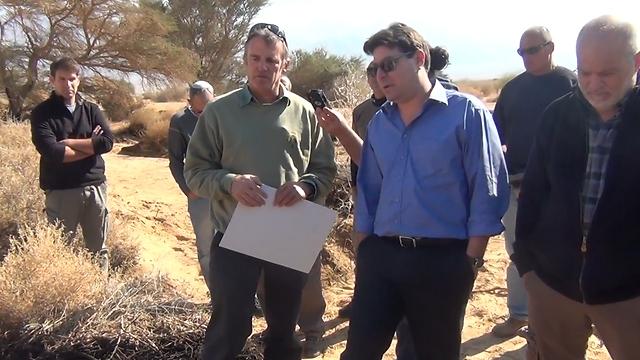 עבודות השיקום טרם הסתיימו, אך אקוניס מיהר לפתוח השמורה (צילום: המשרד להגנת הסביבה) (צילום: המשרד להגנת הסביבה)