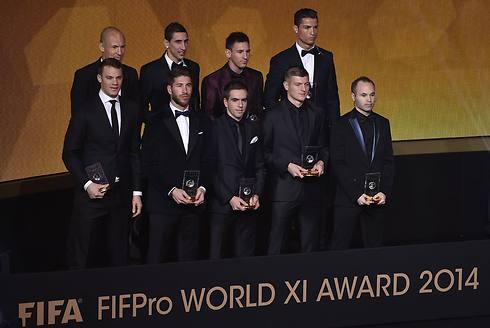 הנבחרת של שנת 2014 (צילום: AFP) (צילום: AFP)