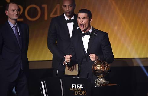 השאגה של רונאלדו (צילום: AFP) (צילום: AFP)