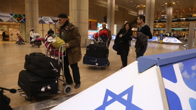 Aliyah from France has risen steeply in recent years and France has become the number one source of immigration to Israel for the first time (Archive photo: Motti Kimchi)