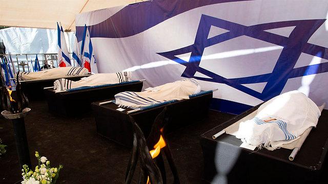 """לפני הלוויה בירושלים, היום (צילום: עמית שאבי """"ידיעות אחרונות"""") (צילום: עמית שאבי"""