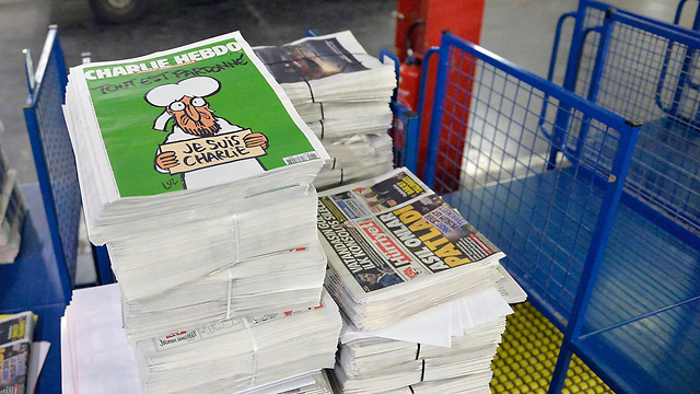 Charlie Hebdo hits the stands in France (Photo: GettyImages)