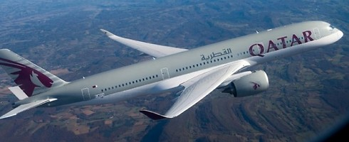 מטוס חברת התעופה הקטארית. הטובה בעולם (צילום: קטאר אייר )