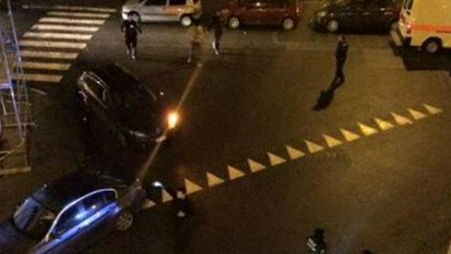 Scene of incident in Belgium