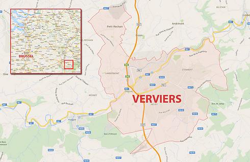 Belgian anti-terror raid in Verviers