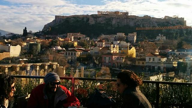 אתונה. שילוב של היסטוריה, תרבות ואוכל (צילום: אמנון גופר)